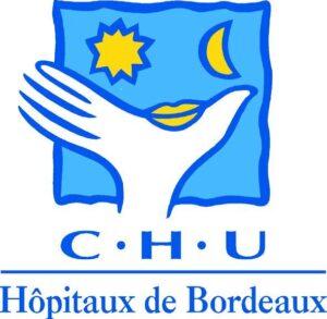 Logo du Centre hospitalier Universitaire (CHU) de Bordeaux Hôpital