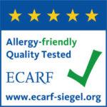 Logo certifié ECARF Contre les allergies