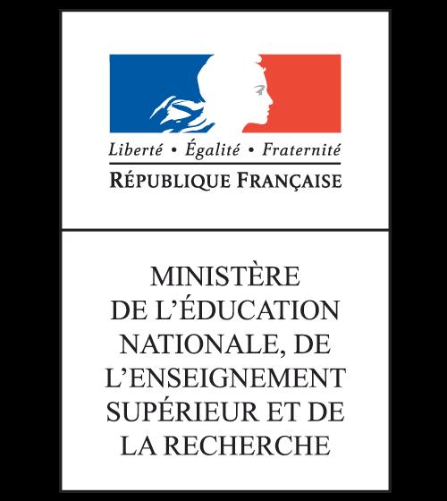 Logo agréé par le Ministère de l'Éducation Nationale, de l'Enseignement Supérieur et de la Recherche