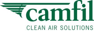 Logo entreprise Camfil France clean air solution